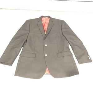Men's Black Suit Coat Size 44S
